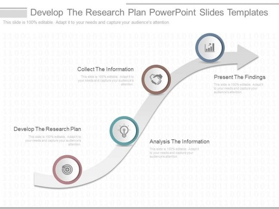 Develop The Research Plan Powerpoint Slides Templates - Powerpoint