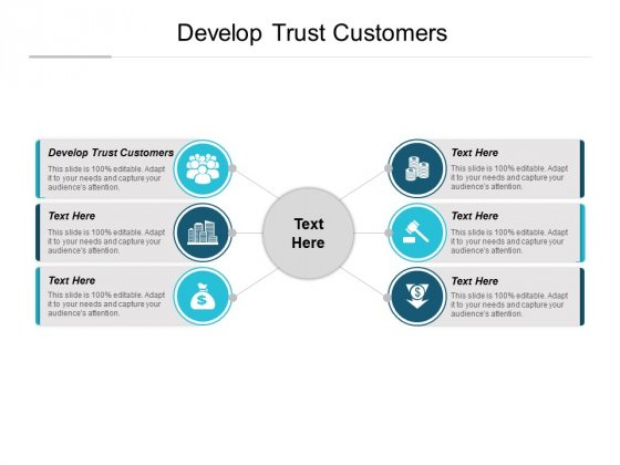 Develop Trust Customers Ppt PowerPoint Presentation Layouts Microsoft Cpb