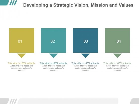 developing a strategic vision for my