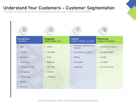 Developing Content Mapping Strategy Understand Your Customers Customer Segmentation Designs PDF