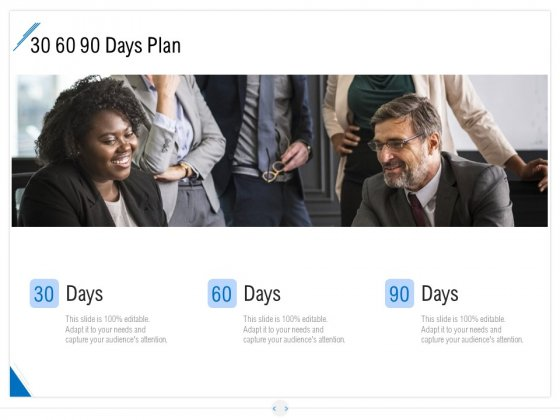 Developing Content Strategy 30 60 90 Days Plan Ppt Styles Background PDF