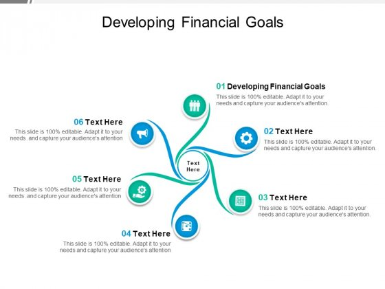 Developing Financial Goals Ppt PowerPoint Presentation Portfolio Inspiration Cpb