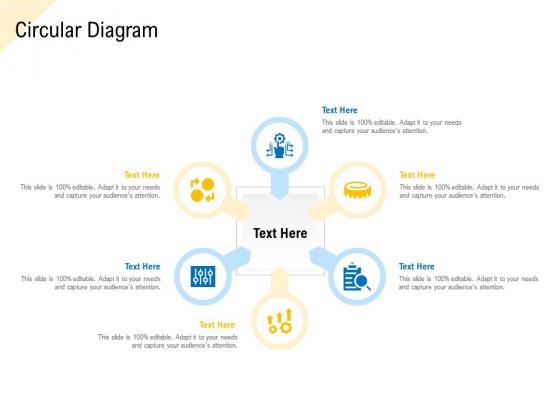 Developing Market Positioning Strategy Circular Diagram Information PDF