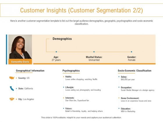 Developing New Trade Name Idea Customer Insights Customer Segmentation Economic Ppt Pictures Introduction PDF