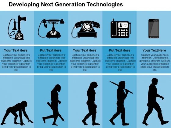 Developing Next Generation Technologies Powerpoint Templates