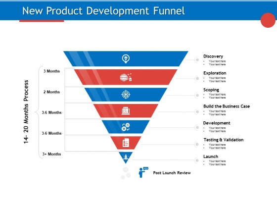 Developing Product Planning Strategies New Product Development Funnel Ppt PowerPoint Presentation Gallery Infographics PDF