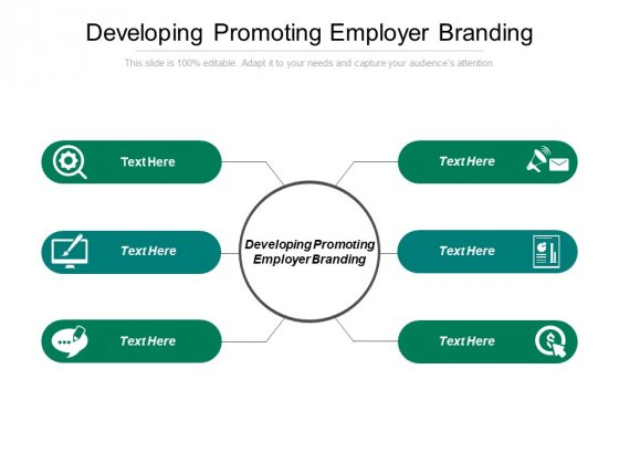 Developing Promoting Employer Branding Ppt PowerPoint Presentation Professional Gallery Cpb