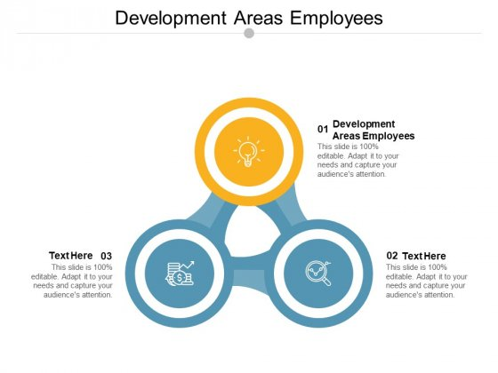 Development Areas Employees Ppt PowerPoint Presentation Layouts Tips Cpb