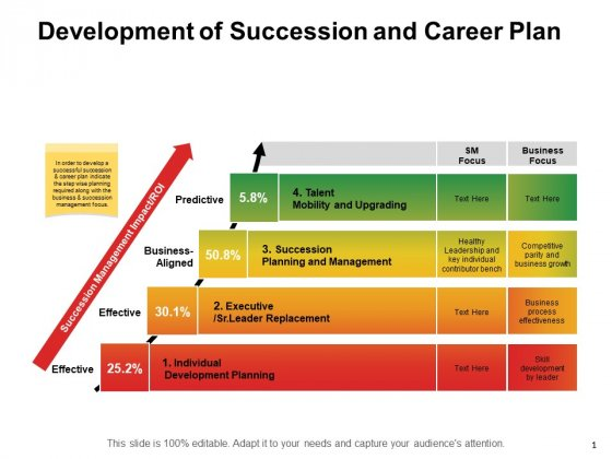 Development Of Succession And Career Plan Ppt PowerPoint Presentation Layouts Professional