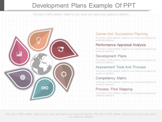 Development Plans Example Of Ppt