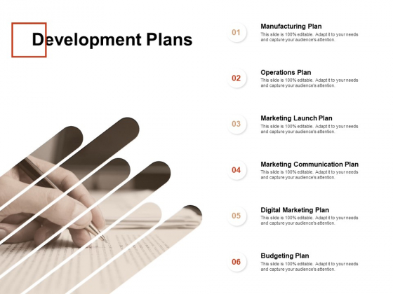 Development Plans Marketing Ppt PowerPoint Presentation Layouts Inspiration