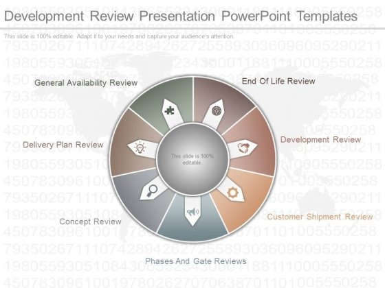 Development Review Presentation Powerpoint Templates
