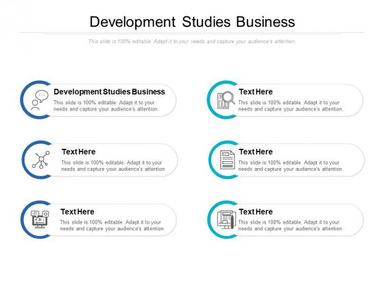 Development Studies Business Ppt PowerPoint Presentation Show Graphics Example Cpb