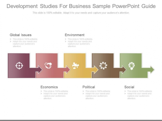 Development Studies For Business Sample Powerpoint Guide