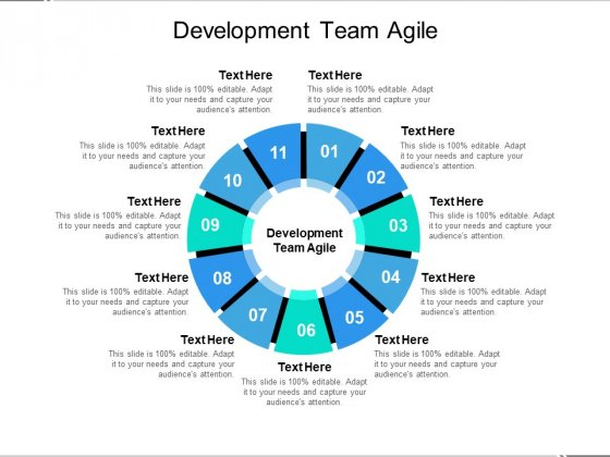 Development Team Agile Ppt PowerPoint Presentation Icon Example Cpb