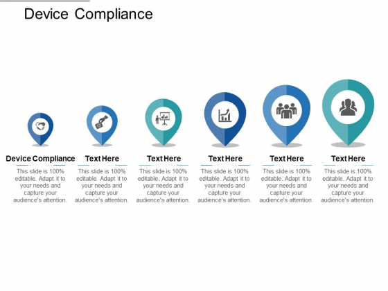 Device Compliance Ppt PowerPoint Presentation Ideas Rules Cpb