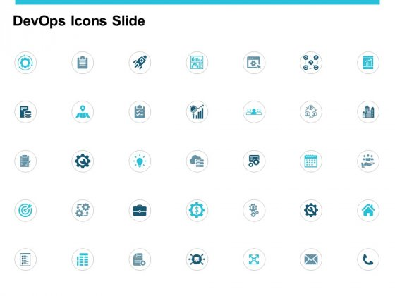 Devops Icons Slide Vision Ppt PowerPoint Presentation Slides Show