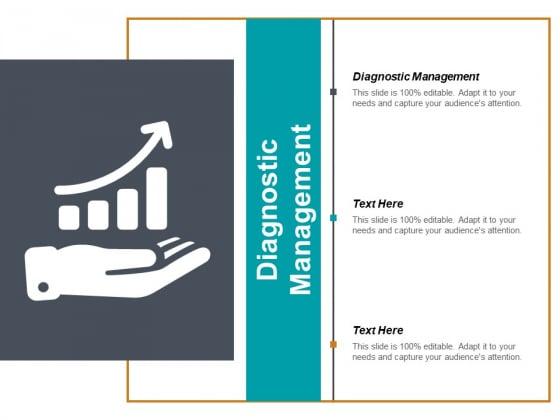Diagnostic Management Ppt PowerPoint Presentation Ideas Slide Portrait Cpb