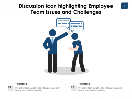 Dialogue_Icon_Employee_Executives_Icon_Ppt_PowerPoint_Presentation_Complete_Deck_Slide_3