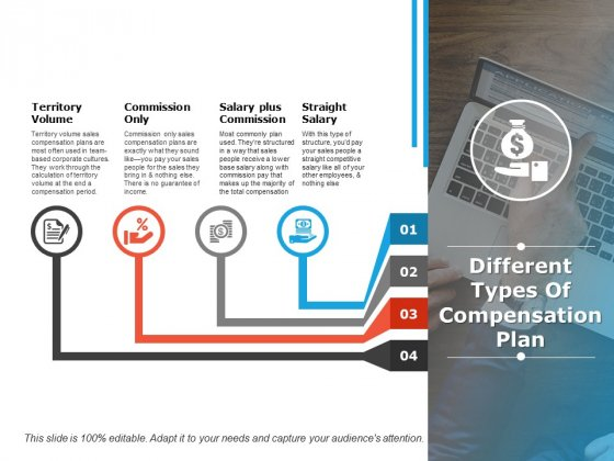 Different Types Of Compensation Plan Ppt PowerPoint Presentation Model Infographic Template