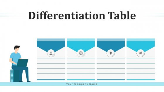 Differentiation Table Sales Style Ppt PowerPoint Presentation Complete Deck With Slides
