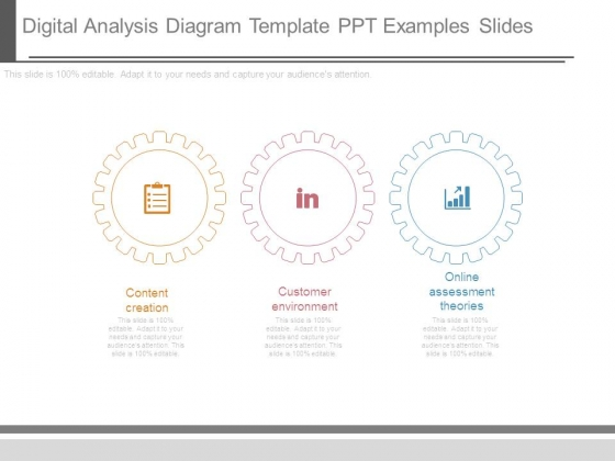 Digital Analysis Diagram Template Ppt Examples Slides