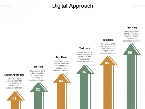 Digital Approach Ppt PowerPoint Presentation Summary Sample Cpb Pdf