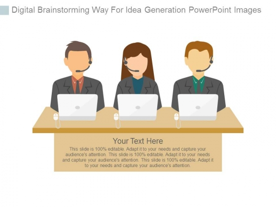 Digital_Brainstorming_Way_For_Idea_Generation_Powerpoint_Images_1