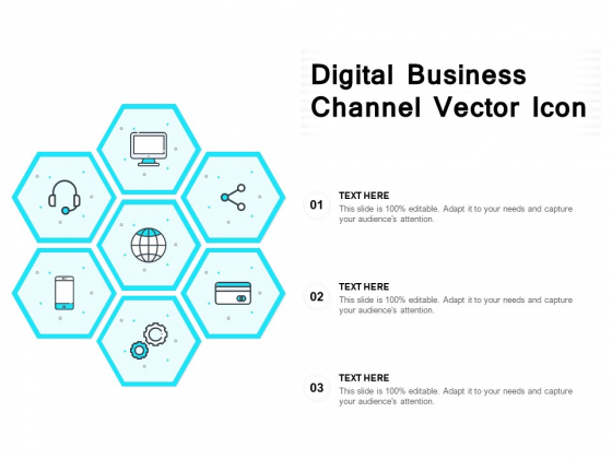 Digital Business Channel Vector Icon Ppt PowerPoint Presentation Styles Graphics Download PDF