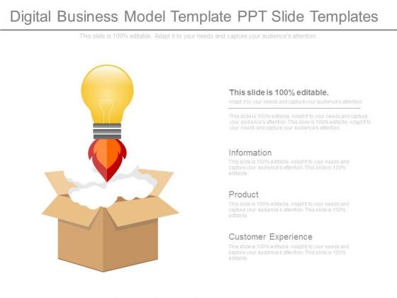 Digital business model template ppt slide templates powerpoint digital business model template ppt slide templates powerpoint templates wajeb Gallery
