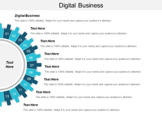 Digital Business Ppt PowerPoint Presentation Outline Display Cpb