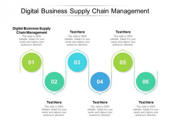Digital Business Supply Chain Management Ppt PowerPoint Presentation File Microsoft Cpb Pdf