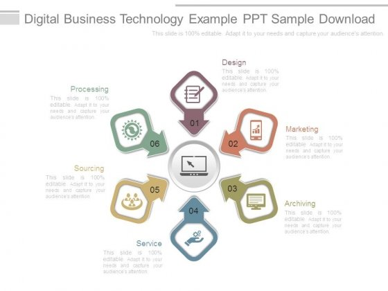 Digital Business Technology Example Ppt Sample Download