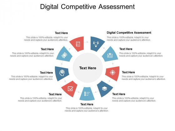 Digital Competitive Assessment Ppt PowerPoint Presentation Ideas Example Introduction Cpb
