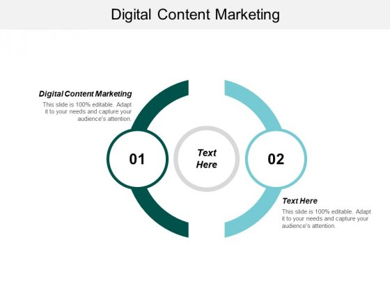 Digital Content Marketing Ppt PowerPoint Presentation File Guidelines Cpb