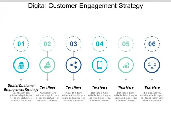 Digital Customer Engagement Strategy Ppt PowerPoint Presentation Slides Ideas Cpb