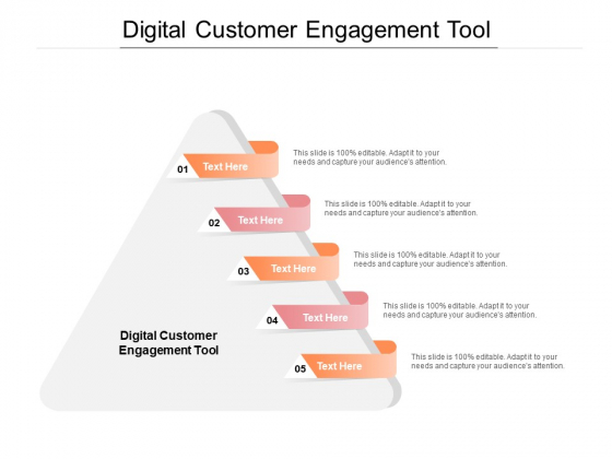 Digital Customer Engagement Tool Ppt PowerPoint Presentation Summary Example Cpb