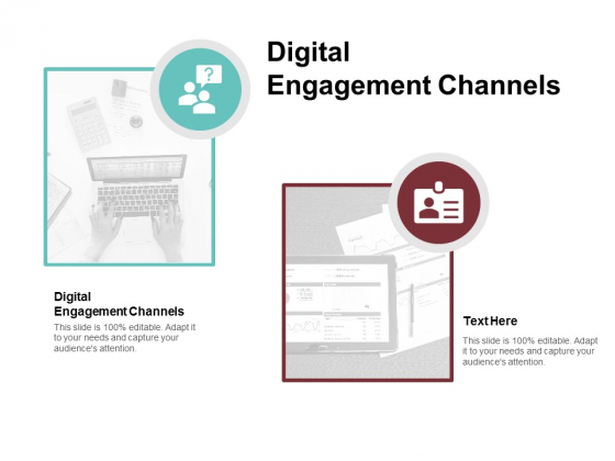 Digital Engagement Channels Ppt PowerPoint Presentation Ideas Example Introduction Cpb