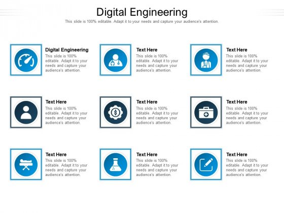 Digital Engineering Ppt PowerPoint Presentation Infographic Template Sample Cpb Pdf