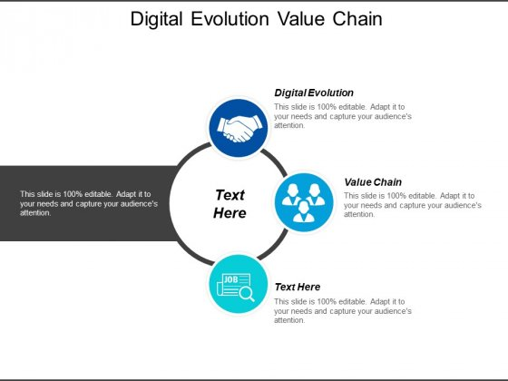 Digital Evolution Value Chain Ppt PowerPoint Presentation Shapes