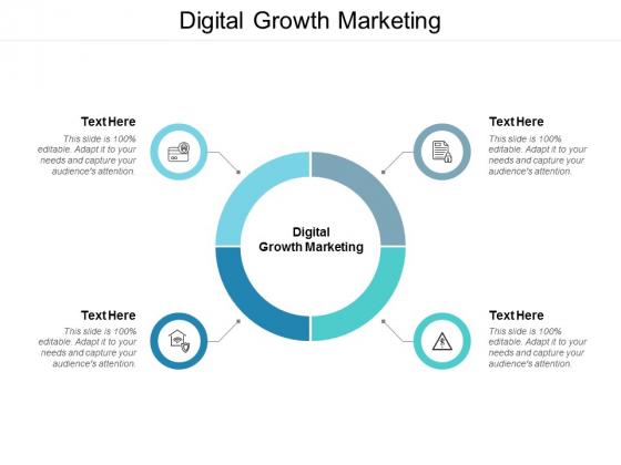 Digital Growth Marketing Ppt PowerPoint Presentation Inspiration Designs Cpb
