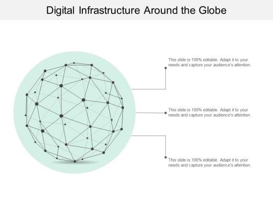 Digital Infrastructure Around The Globe Ppt PowerPoint Presentation Outline Model