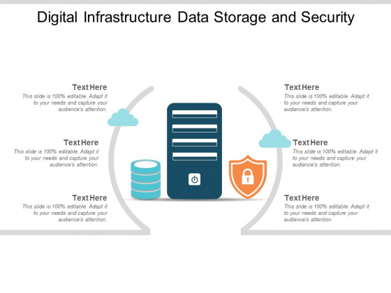Digital Infrastructure Data Storage And Security Ppt Powerpoint Presentation Show Layout Ideas