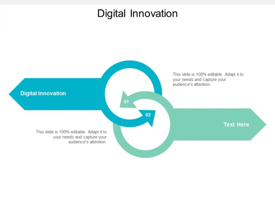 Digital Innovation Ppt PowerPoint Presentation Summary Layout Ideas Cpb
