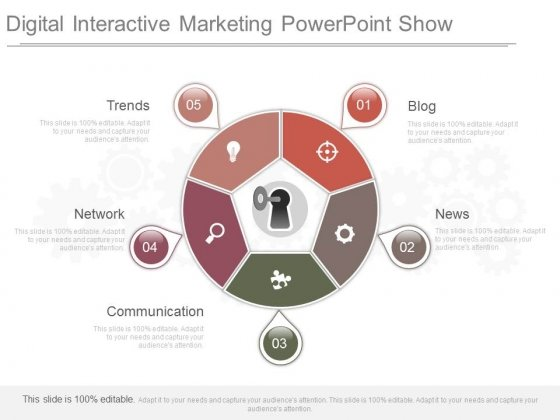Digital Interactive Marketing Powerpoint Show