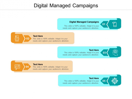 Digital Managed Campaigns Ppt PowerPoint Presentation Styles Backgrounds Cpb