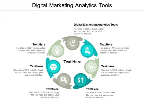 Digital Marketing Analytics Tools Ppt PowerPoint Presentation Pictures Slide Portrait Cpb