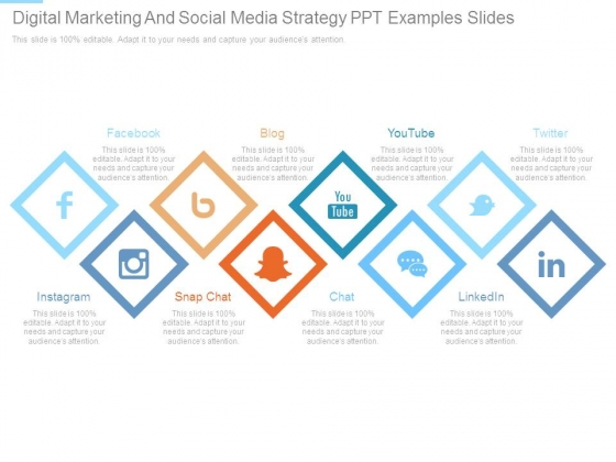 Digital Marketing And Social Media Strategy Ppt Examples Slides