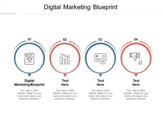 Digital Marketing Blueprint Ppt PowerPoint Presentation Gallery Infographics Cpb