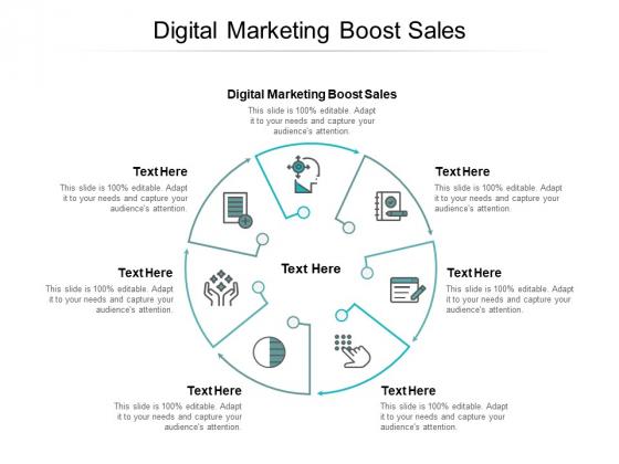 Digital Marketing Boost Sales Ppt PowerPoint Presentation Ideas Themes Cpb